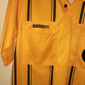 TEAM REF COMPETITION Shirts - USSF Soccer Referee Shirt Jersey Adult Medium S/S
